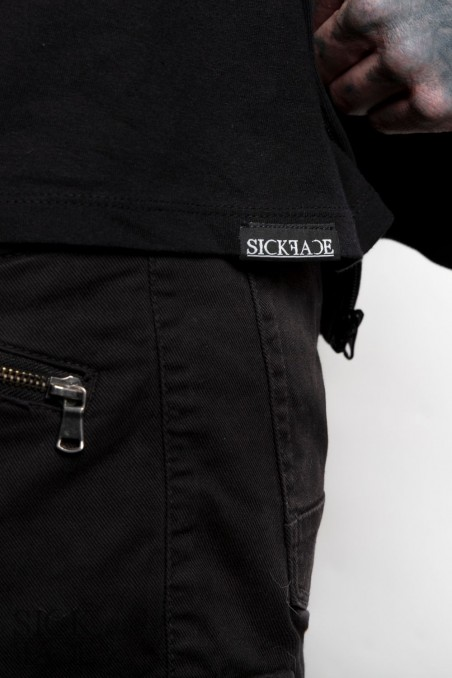 Detail of the Sickface brand logo.